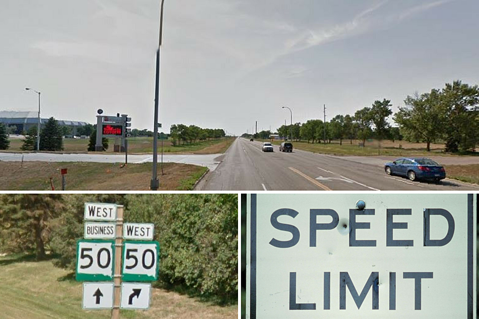 Watch Out for Speed Limit Change Next to USD in Vermillion.