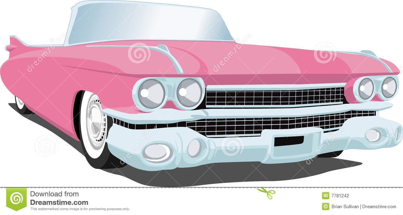 Pink Cadillac Clipart Images.