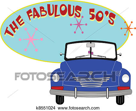 Fab 50's Clipart.