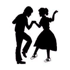 50s clipart dancer, 50s dancer Transparent FREE for download.