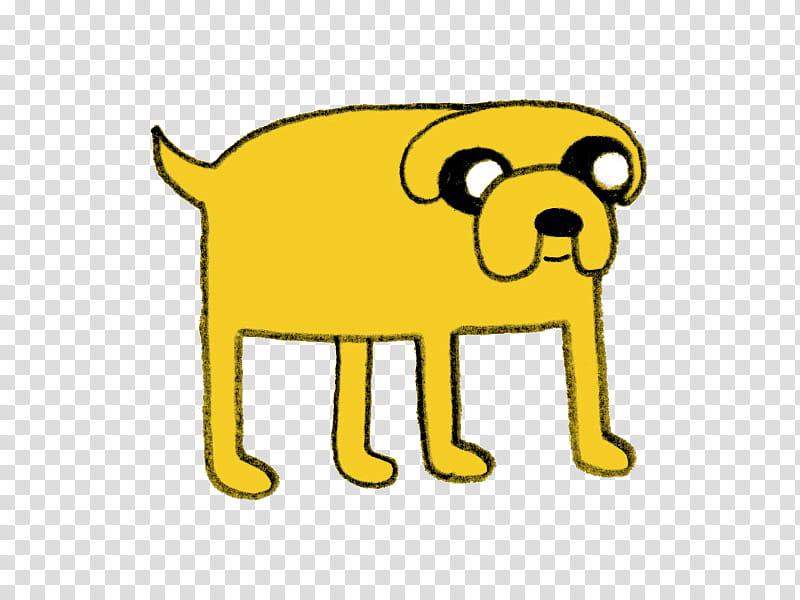 S, yellow dog illustration transparent background PNG.