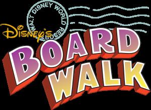 Map and information for Disney\'s Boardwalk Inn.