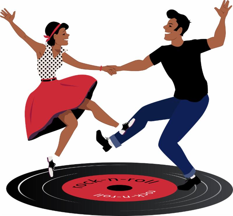 50s clipart dancer, 50s dancer Transparent FREE for download.