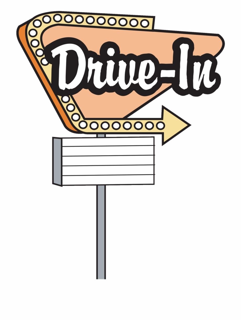 50s Diner Signs Clipart.