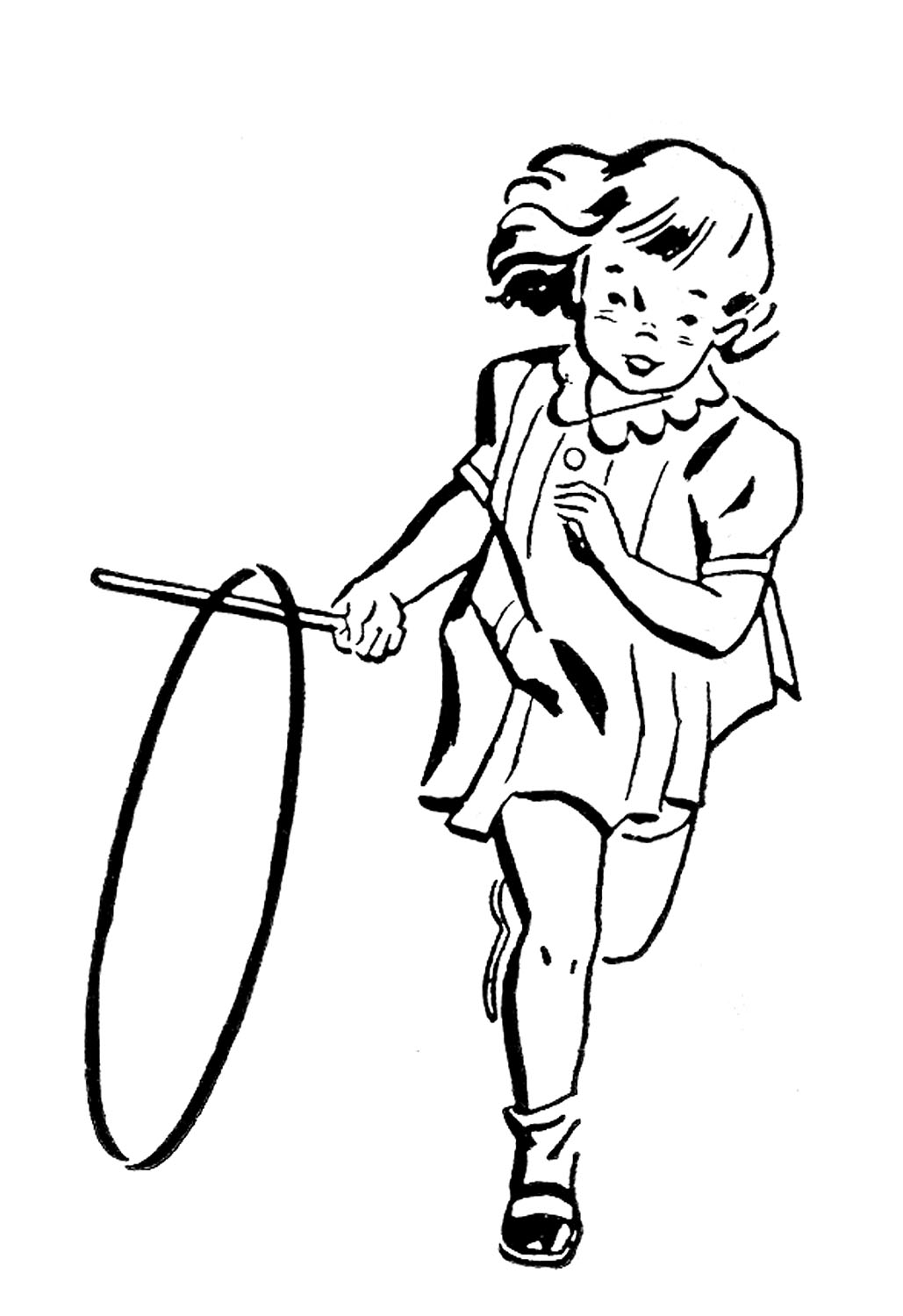 Free Hula Hoop Silhouette, Download Free Clip Art, Free Clip.