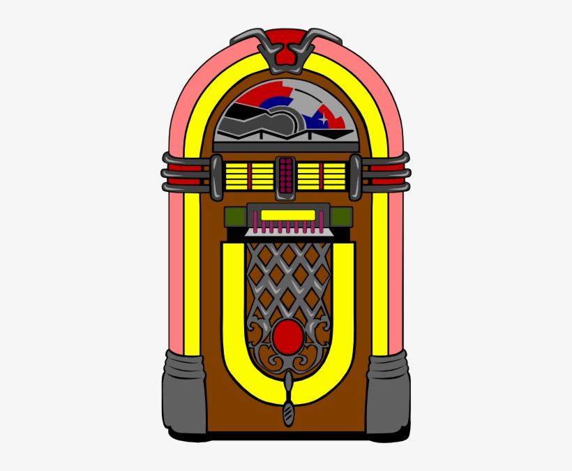Clip Art 50s Jukebox.