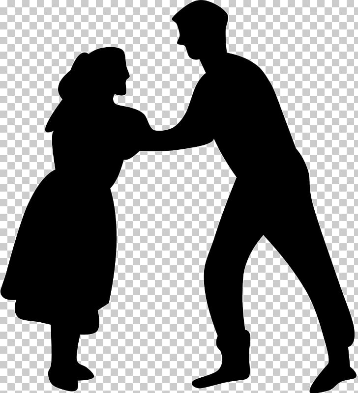 The Dancing Couple Dance , 50s Dancers s PNG clipart.