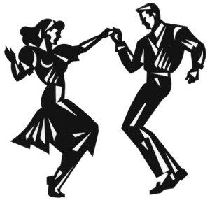 50s Dance Clip Art.