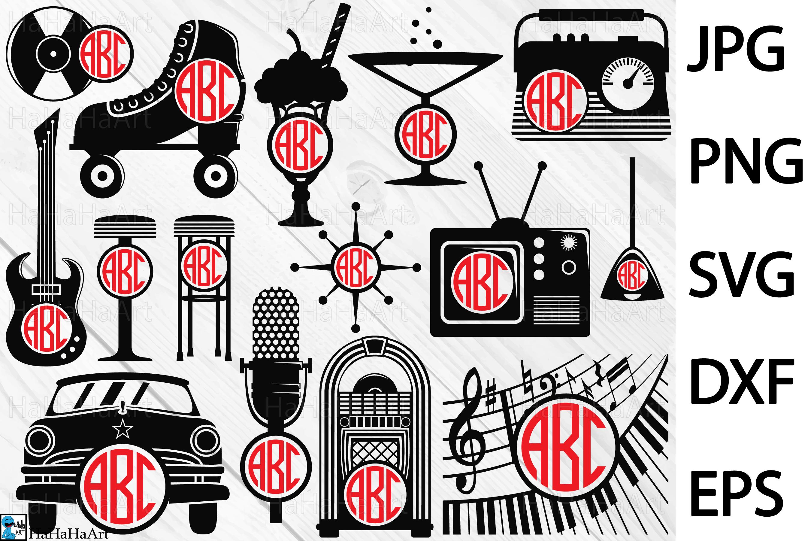 The 50s Monogram.