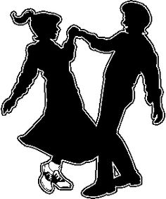 50s clipart couple, 50s couple Transparent FREE for download.