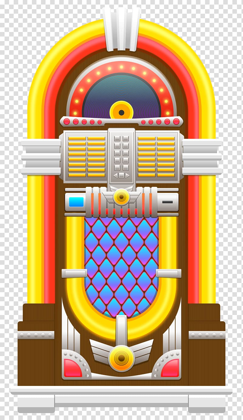 Jukebox 1950s Clothing , Jukebox transparent background PNG.