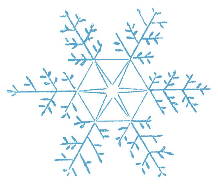 Snowflakes Clipart.
