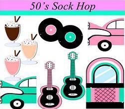 50s sock hop clipart 3 » Clipart Portal.