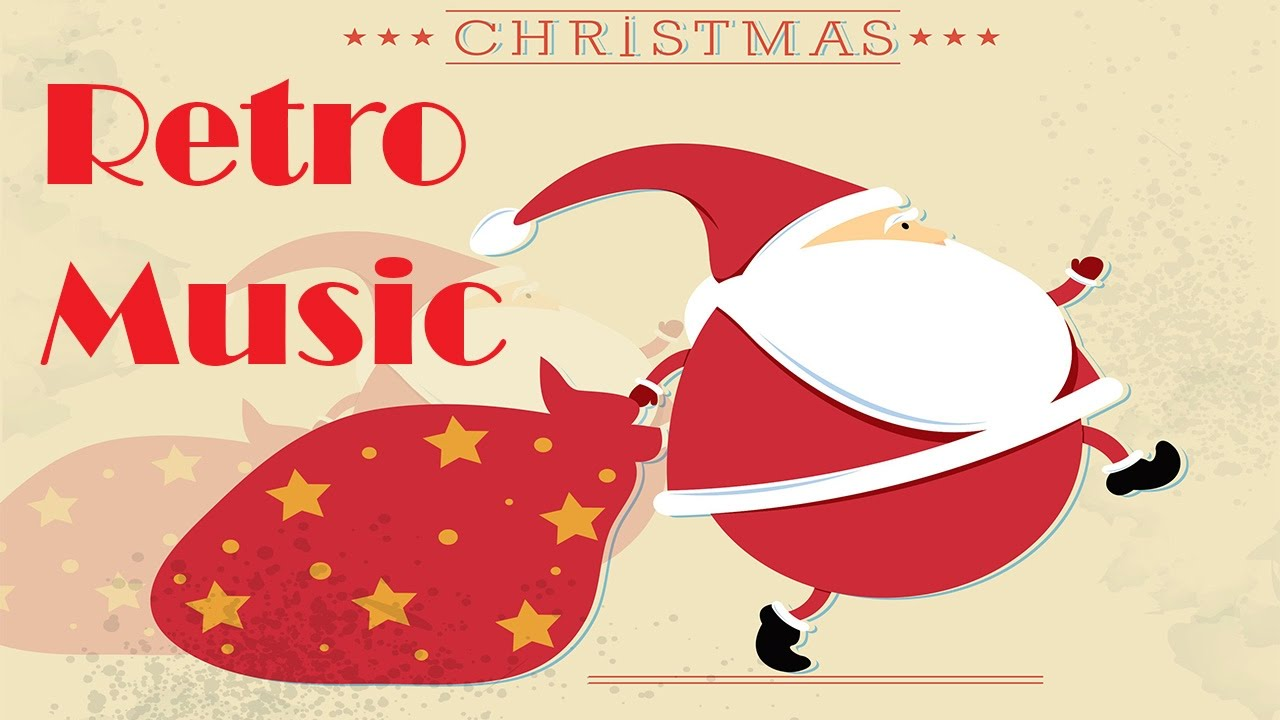Retro Christmas Music 50s.