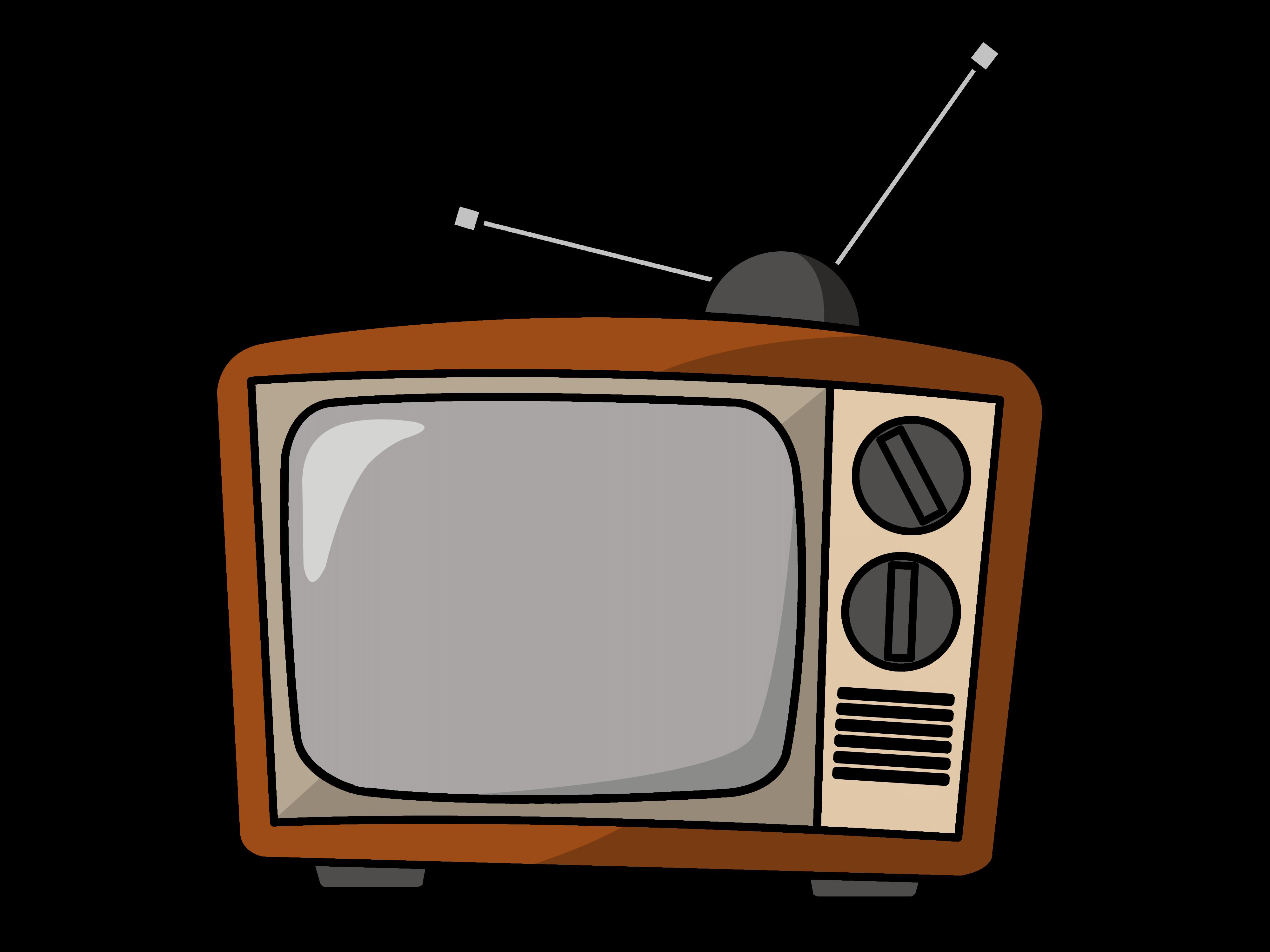 Tv Cartoon Clipart.