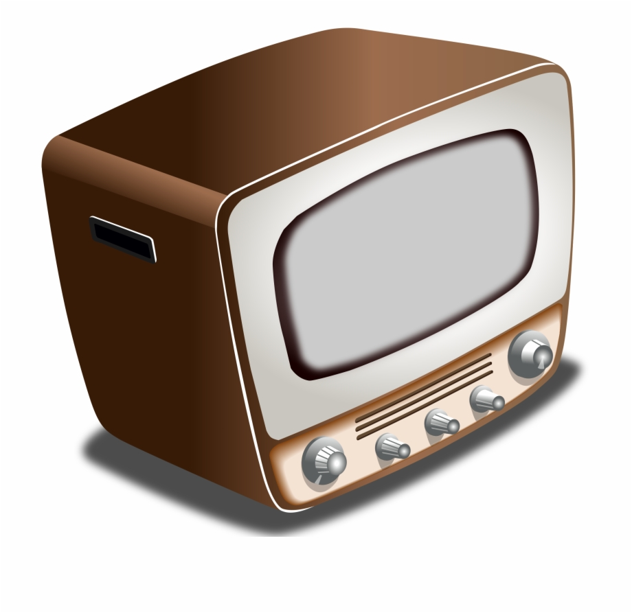 Television Clipart 1950S Tv Crt Tv Clipart.