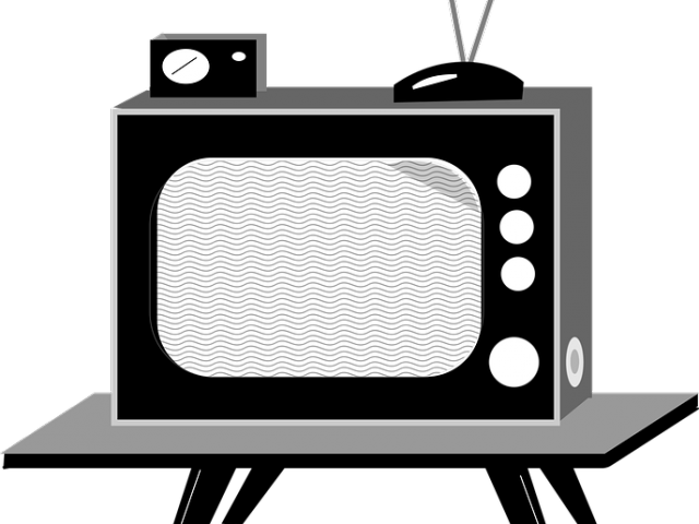 Television Clipart Tube Tv.