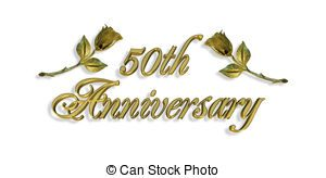 50th anniversary clipart 2 » Clipart Station.