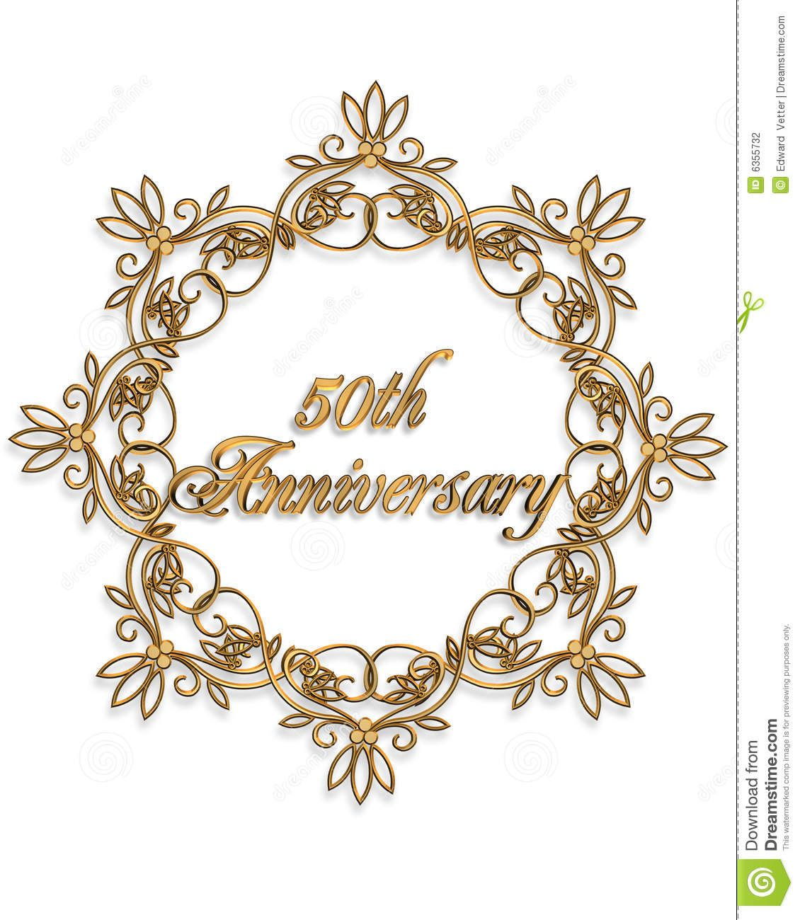 50th Anniversary Clip Art For Cards Clipart.