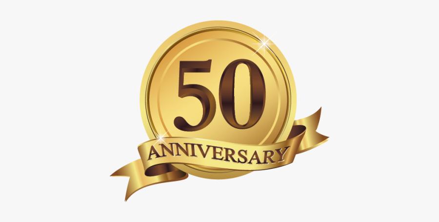 Clip Art 50th Anniversary Symbol.