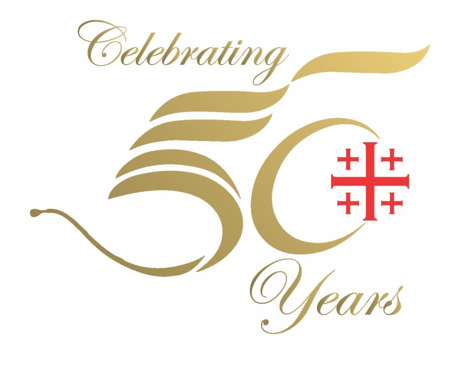 50th Anniversary Logo Transparent.