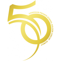 Armenian Private School of Kuwait 50th Anniversary Logo PNG images.
