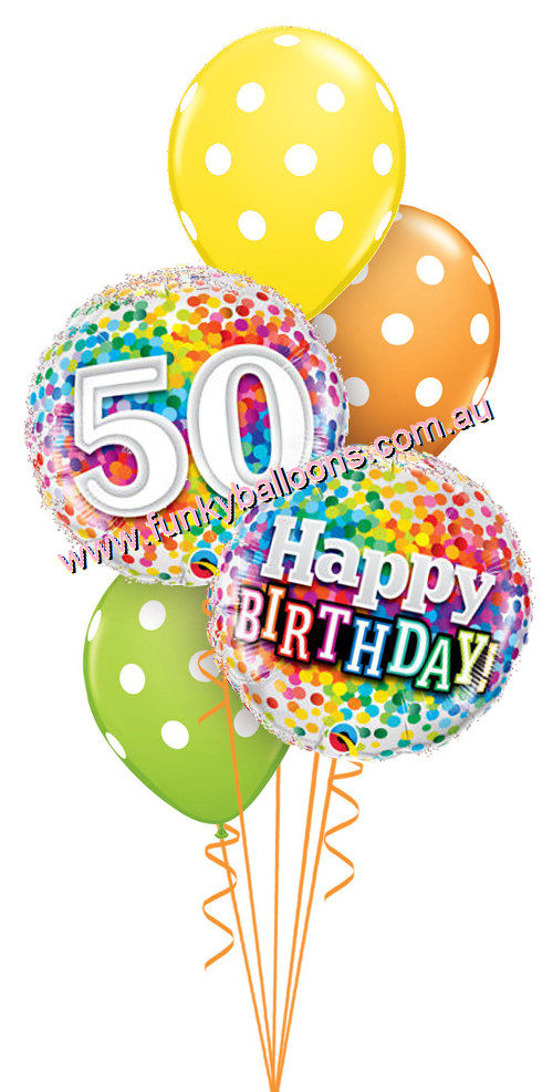 Images Of 50th Birthday Balloons.