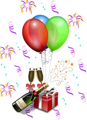 where to find free clipart for 50th birthday cards.