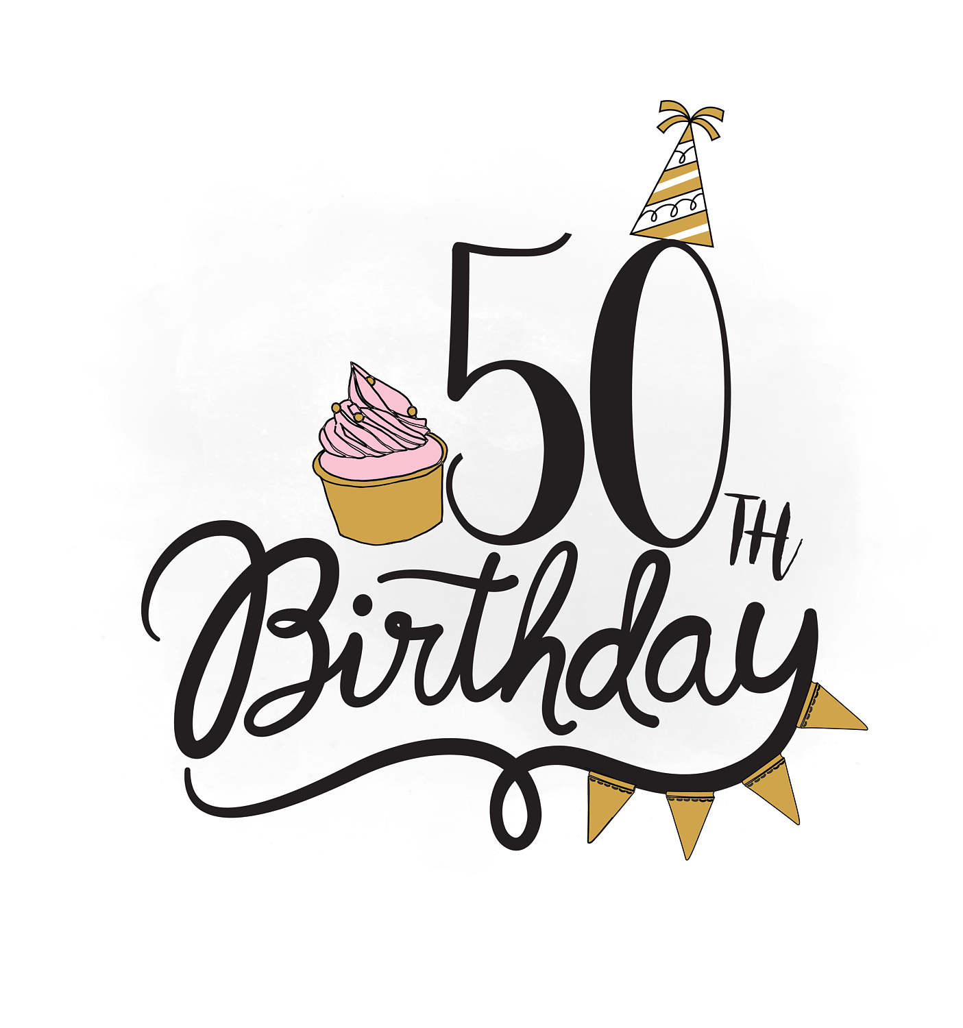 50th birthday clipart 5 » Clipart Station.