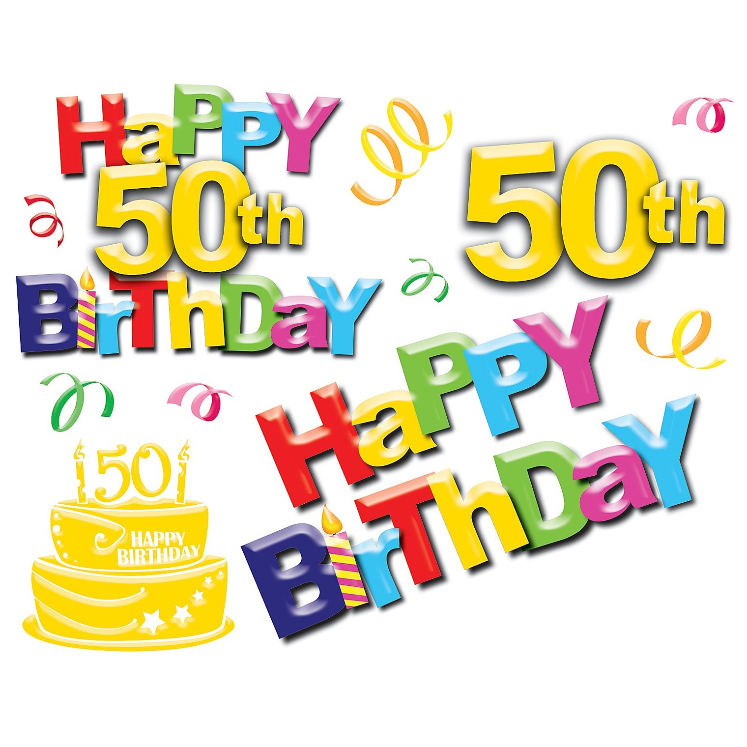 Free Fiftieth Birthday Cliparts, Download Free Clip Art, Free Clip.
