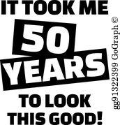 50Th Birthday Clip Art.