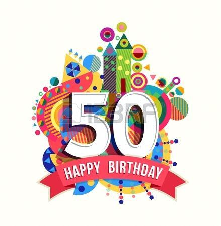 50th Birthday Clipart 28.