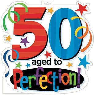 picture of happy 50th birthday.