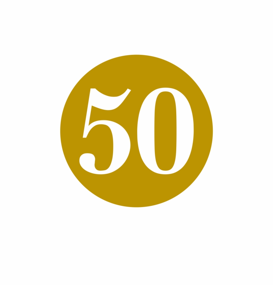 50th Birthday Png.