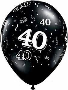 Happy 40th Birthday Clip Art.
