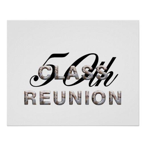50th Class Reunion Clip Art.
