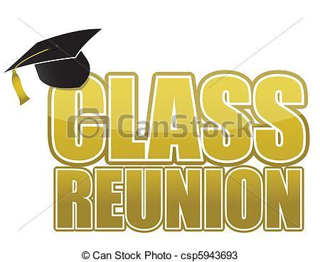 50th class reunion clipart #5