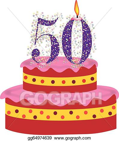 Cupcakes clipart 50th birthday cake, Cupcakes 50th birthday.