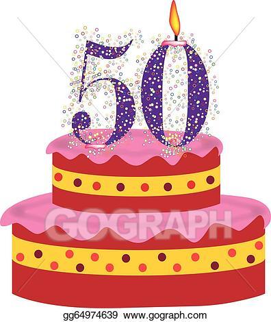Cupcakes clipart 50th birthday cake, Cupcakes 50th birthday.
