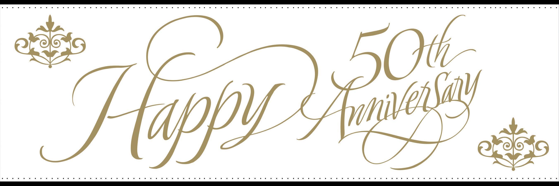 PNG HD 50Th Wedding Anniversary Transparent HD 50Th Wedding.
