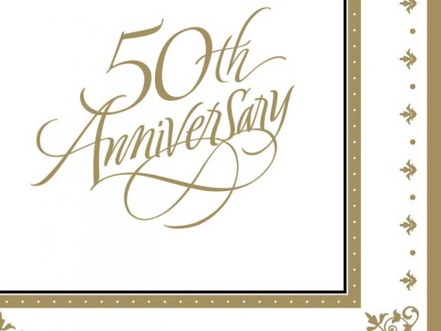 50th Wedding Anniversary Clipart 12.