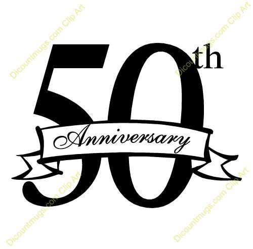 50th Wedding Anniversary Invitation Clip Art Free Exclusive Ideal 16.