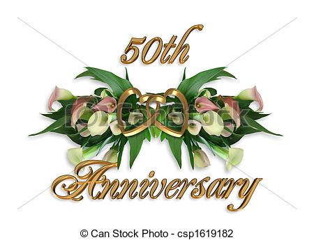 50th wedding anniversary Illustrations and Clip Art. 616 50th.