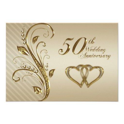 Free Printable 50th Anniversary Invitations.