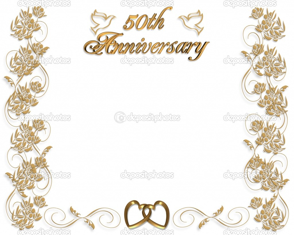 16 Wedding Anniversary Templates Free Images.