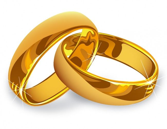 Ring, Golden, Gold, Wedding Ring PNG Transparent Clipart.