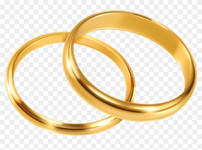 Free Png Wedding Rings Png Images Transparent.