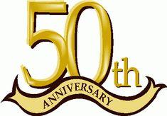Anniversary clipart 50 year, Anniversary 50 year Transparent.