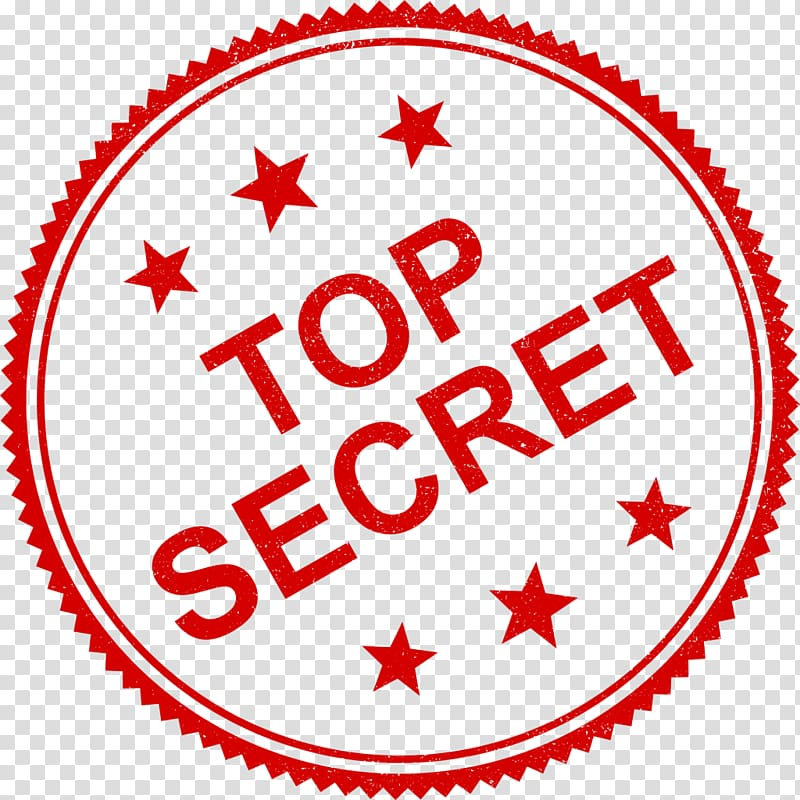 Top Secret logo, Secrecy Security clearance Espionage Area.