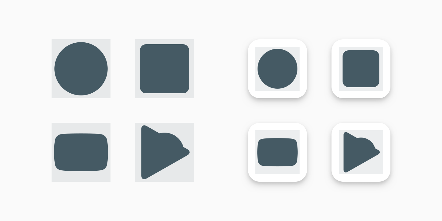 Google Play icon design specifications.